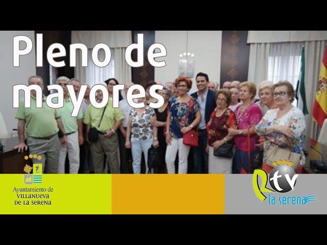 Loli Asensio elegida nueva alcaldesa de los mayores en el consejo extraordinario