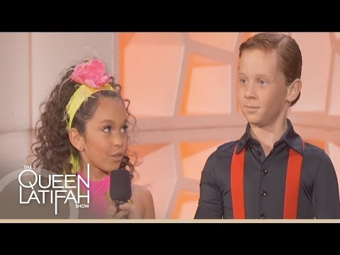 Yasha & Daniela Do the Cha-Cha on The Queen Latifah Show