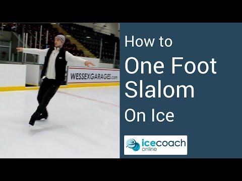 One Foot Slalom