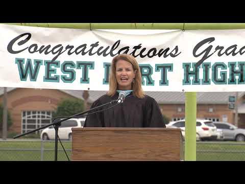 2020 West Port High School graduation