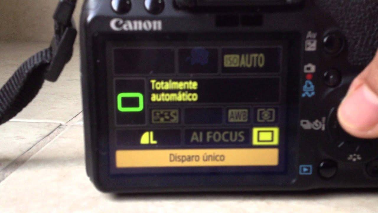 Camara Canon Rebel T1i Youtube