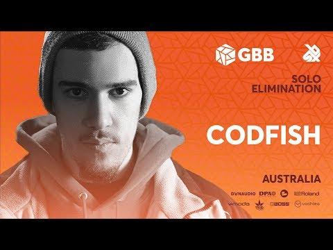 CODFISH | Grand Beatbox Battle 2019 | Solo Elimination