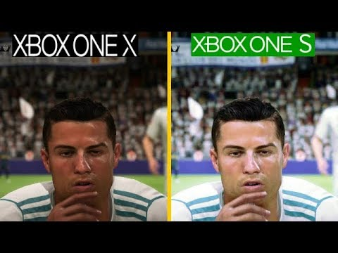fifa 18 xbox one x vs xbox one s 4k graphics comparison is it worth to upgrade youtube. Black Bedroom Furniture Sets. Home Design Ideas