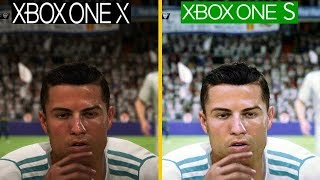 FIFA 18 | Xbox One X VS Xbox One S | 4K Graphics Comparison **Is It Worth To Upgrade**