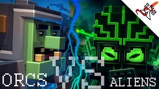 8 Bit Invaders - ALIENS vs ORCS