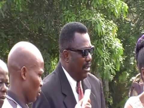 Sweaken Liberia Airstrip Dedication