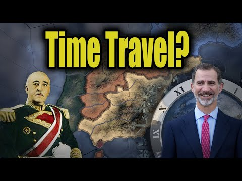 Cursed Time Traveling Spain (HOI4)