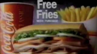 Video Hardee's subs commercial - 1991 download MP3, 3GP, MP4, WEBM, AVI, FLV April 2018