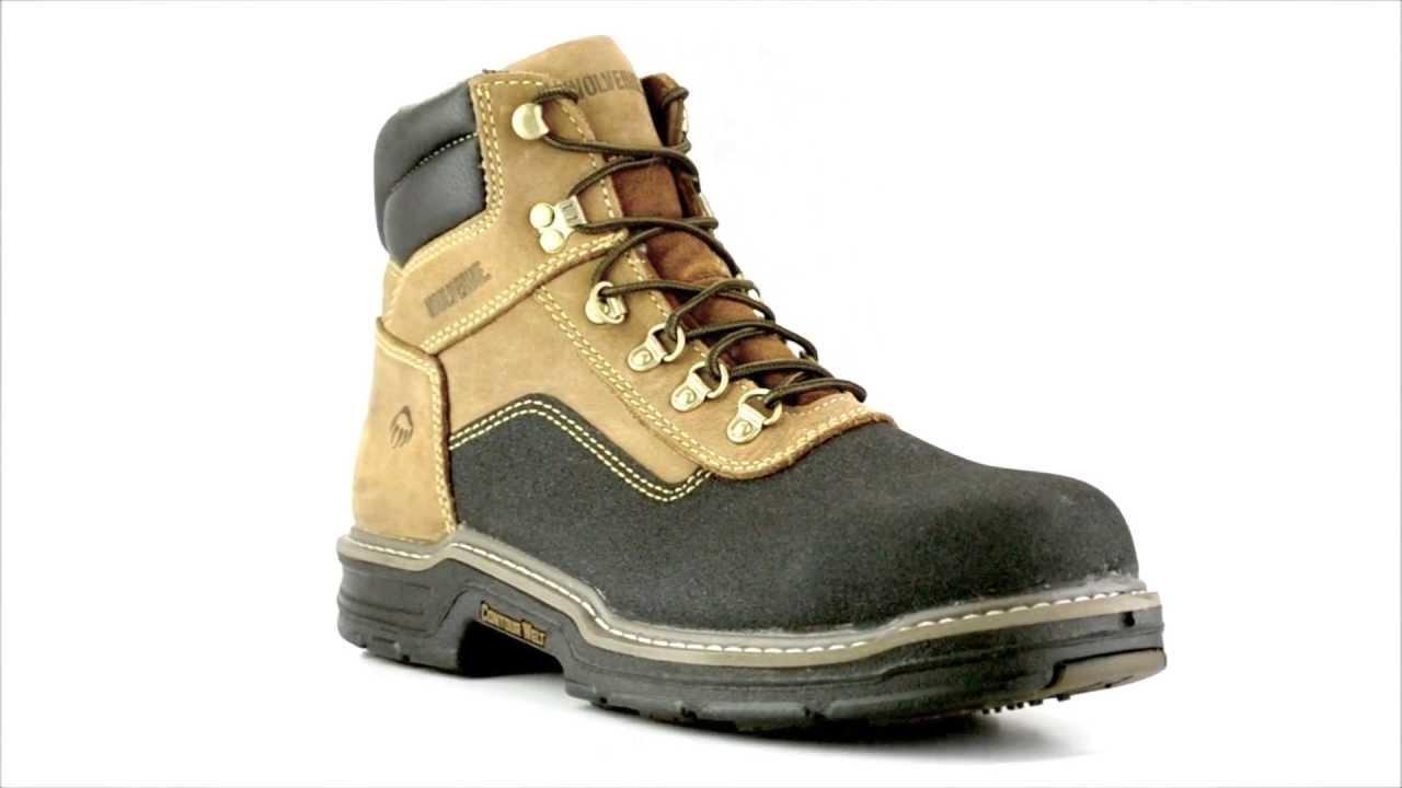 85650a0d41d Men's Wolverine W02252 Composite Toe Waterproof Work Boot @  Steel-Toe-Shoes.com