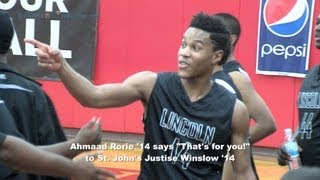 Ahmaad Rorie '14, Lincoln Junior, 2012 Under Armour Holiday Classic