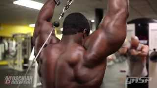 Brandon Curry - Shoulders And Arms Workout - Part 2 HD !!!