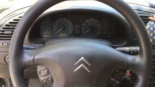 Ремонт перемикача поворотів на Citroen Xsara