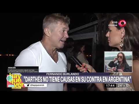 Saccone: 'La denuncian a Darthés me impactó mucho'