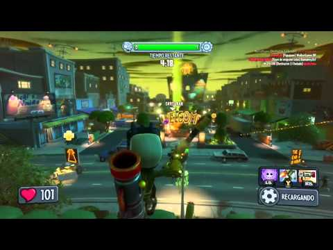 Plants Vs Zombies G.W  ZPG Epic kill Long Range
