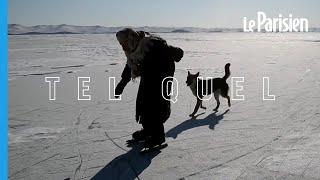 Russie : à 79 ans, elle patine encore sur le lac Baikal