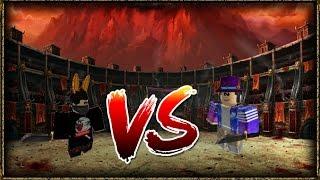 YOSOYTACO VS GALACTICALSTARDUST (Roblox Mad Games)