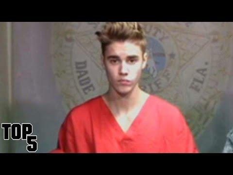 Top 5 Shocking Justin Bieber Pictures