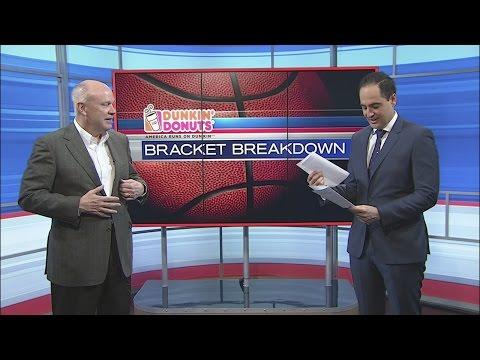 Tim O'Shea joins Yianni Kourakis to break down the NCAA Tournament Bracket