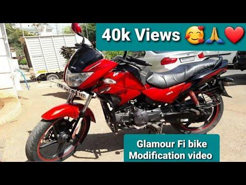 Hero Glamour Bike Modification | MA CHANNEL 2020