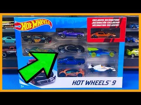 Hot Wheels Bugatti 9 Pack Unboxing