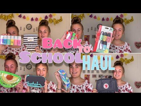 BACK TO SCHOOL SUPPLIES HAUL 2019 - Teil 1 - Tedi, Action, Rossmann - creatis live