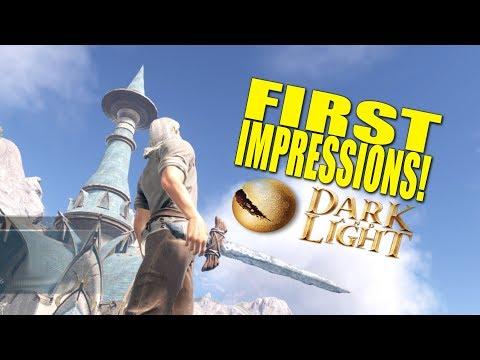 First Impressions! (Fantasy survival) - Dark And Light