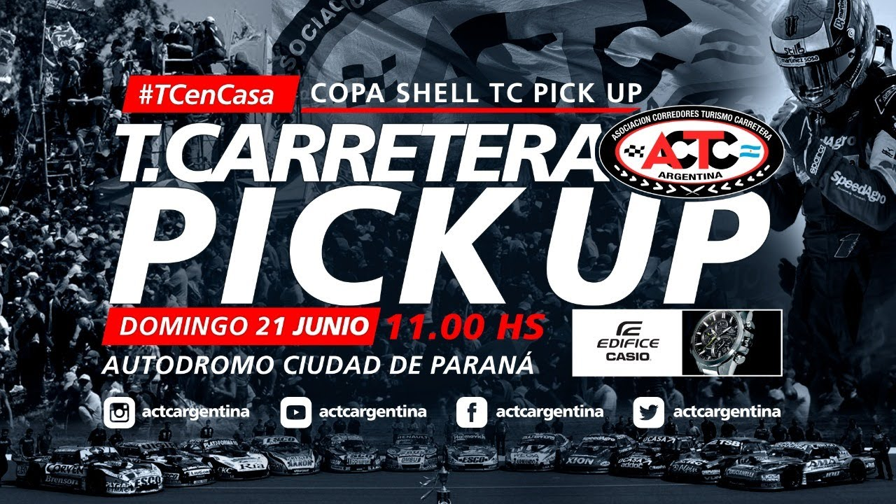 #TCenCasa - Copa Shell TC Pick Up - Paraná