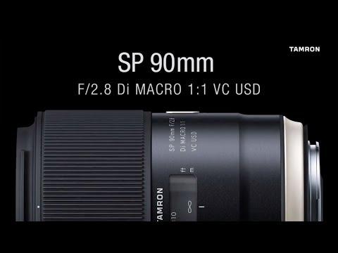 Tamron SP 90mm F/2.8 Di VC USD 1:1 Macro Lens (F017A)