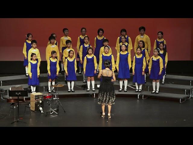 合唱  中班團員 《粉雪》 (南區少年兒童合唱團)