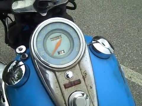 Running Classic 1948 Harley Panhead Buzz Kanter Walkaround
