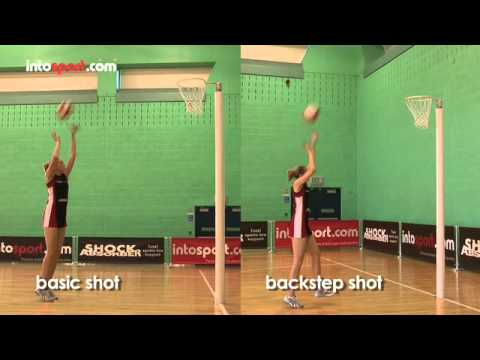 Netball Skills: Shooting Techniques - YouTube