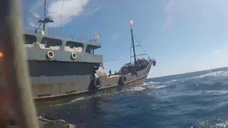 По уточненным данным, накануне в Японском море были задержаны более 160 браконьеров из КНДР.
