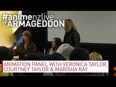 Armageddon Expo 2015: WELLINGTON - Saturday Animation Panel. [#animenzlive]