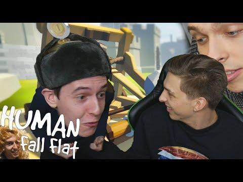 Nejhorší parkour crew v EU | Human Fall Flat PT.2 w/ Dogg