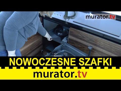 Nowoczesna kuchnia - systemy otwierania szafek i szuflad