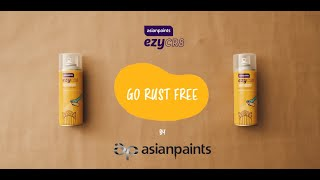 Asian Paints ezyCR8 Rust Shield DIY Anti-Rust Corrosion Protection Aerosol Spray