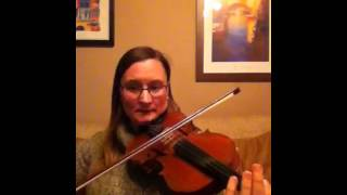 Reel of Tullochgorum - Fiona Cuthill. Glasgow Fiddle Worksh