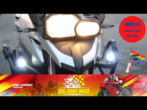 Bikevis Cree Lamps On A Bmw F700gs Motorcycle Youtube