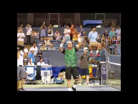 Match point, Lleyton Hewitt d John-Patrick Smith - 2015 Citi Open - Meniscus Magazine
