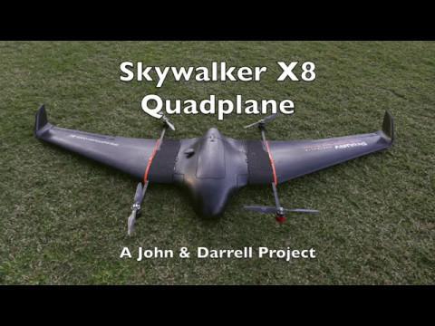 Skywalker X8 Quadplane | Racer lt