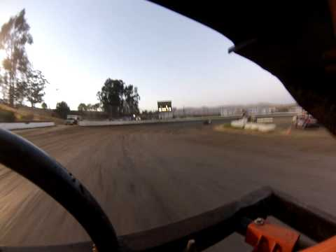 Santa Maria Speedway Nationals Austin Ruskauff #88R Hobby Stock Heat 5/25/13 View 2
