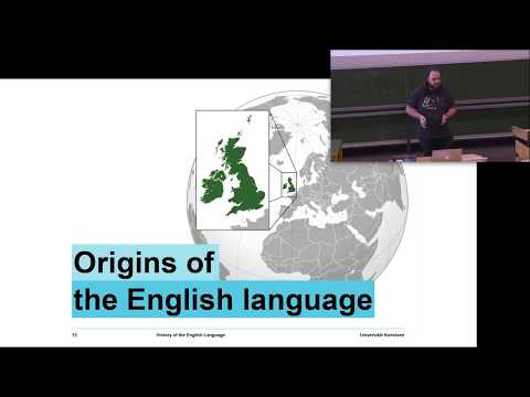 Structure and History of English II - Session 1: Introduction to the English Language