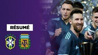VIDEO: Résumé : Pour son retour, Messi fait gagner l'Argentine contre le Brésil !