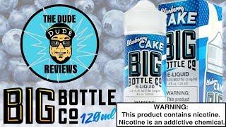 big Bottle Co Blueberry Cake - 120ml Обзор Жидкости