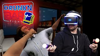 FIGHTIN DIRTY IN VR!! - DRUNKIN BAR FIGHT | 2dudes1game