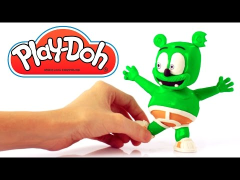 Thumbnail: Gummy Bear Play Doh Stop motion video