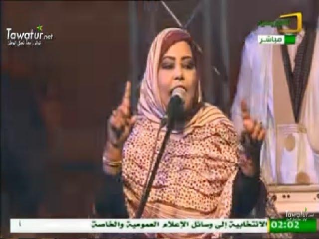 """أغنية بتي بنت أكذي """" مانك ماشي عن"""" - قناة الموريتانية"""