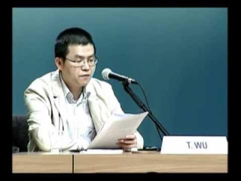 What awakes humanity. Testimony Tianyue Wu