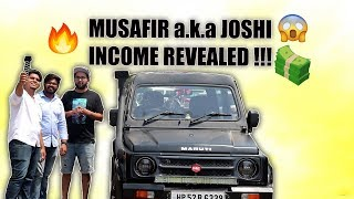 Musafir a.k.a Joshi's Income Reveal ?? Girlfriends ?? - Being asli with asliBC Video