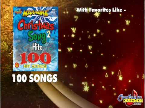 Christmas Vol 2 100 Karaoke Songs from Chartbuster Karaoke